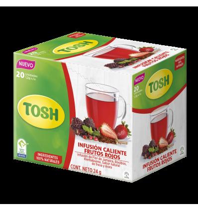 Té Frutos Rojos Tosh X20Und 24Gr