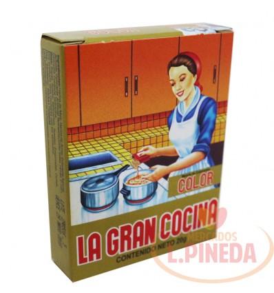 Color X 20 G La Gran Cocina