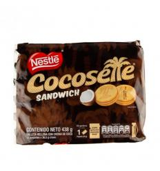 Galletas Cocosette Sandwich x12Und