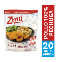 Nuggets De Pollo Apanado Zenú 340Gr