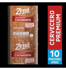 Salchichon Cervecero Premium Zenú x500Gr