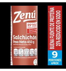 Salchichon Zenú x450Gr