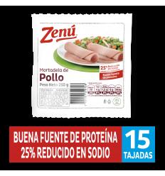 Mortadela Zenú de Pollo x250Gr