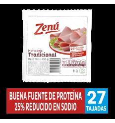 Mortadela Zenú De Res x450Gr