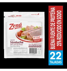 Jamón Sanduche Zenú x450Gr