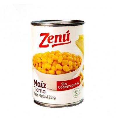 Maiz Tierno Enlatado X 432 G Zenú