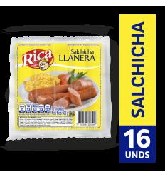 Salchicha Rica Llanera x500Gr