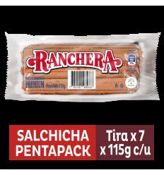 Salchicha Ranchera Zenú x115Gr