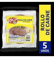Rollo De Carne Con Verduras Rica x450Gr