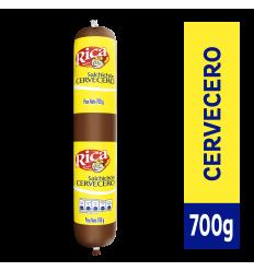 Salchichon Cervecero Rica x700Gr