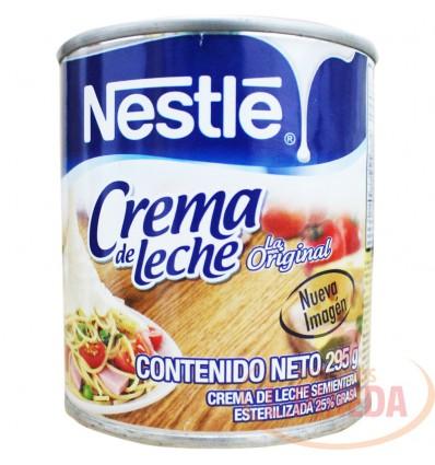 Crema De Leche Nestle X 295 G Lata