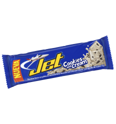 Chocolatina Jet Cookies&Cream Barrita