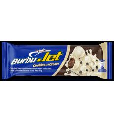 Chocolatina BurbuJet Cookies And Cream x50Gr