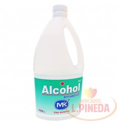 Alcohol Mk X 700 ML Antiseptico