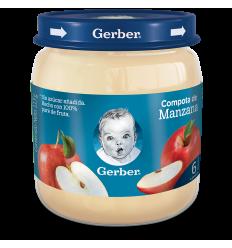 Compota Gerber Manzana 113Gr