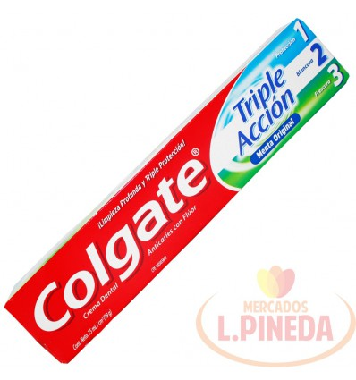 Crema Dental Colgate X 75 ML Triple Accion