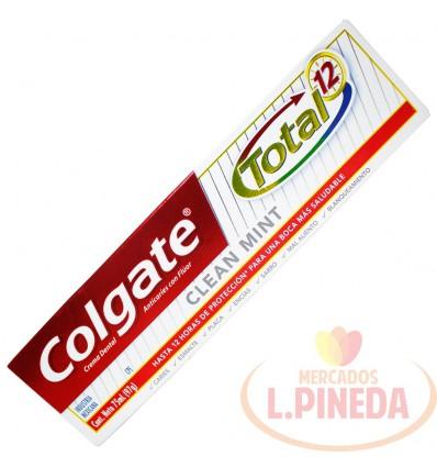 Crema Dental Dental Colgate Total 75 ML Clear Mint