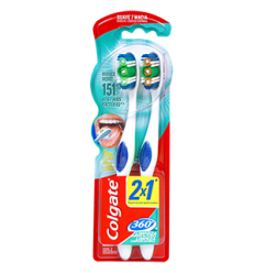 Cepillo Dental Colgate 360 Suave/Magia x2Und