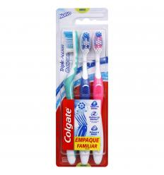Cepillo Dental Triple Acción Blancura x3Und