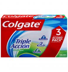 Crema Dental Colgate Triple Acción 3x75ML