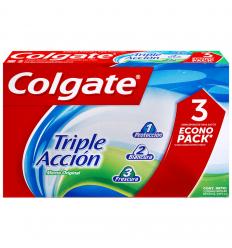 Crema Dental Colgate Triple Acción 3x100ML