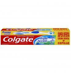 Crema Dental Colgate Triple Acción 50mL+Cepillo