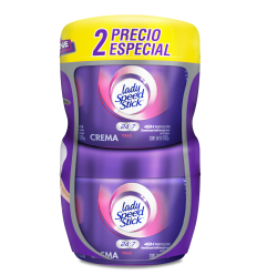 Desorante Lady Speed Stick En crema x2Und 100Gr