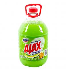 Ajax Bicarbonato Naranja-Limón x3L