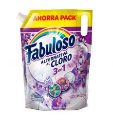 Fabuloso Alternativa Al Cloro 3 En 1 Fresca Lavanda x1.5L