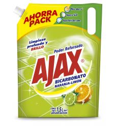 Ajax Bicarbonato Naranja-Limón x1.5L