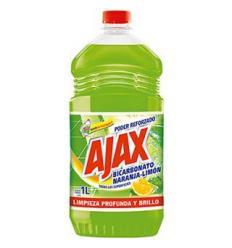 Ajax Bicarbonato Naranja-Limón x1L