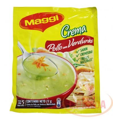 Crema Maggi X 72 G Pollo Con Verduras