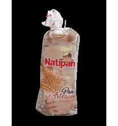 Pan Tajado Artesano Natipan x500Gr