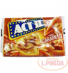 Crispetas Microondas Actii Caramelo