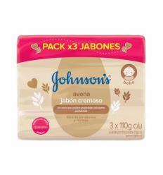 Jabon Johnson's Baby x 110Gr X 3 und Avena