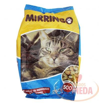 Cuido Para Gatos Mirringo X 500 G