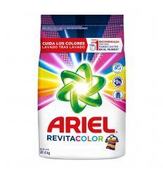 Detergente Ariel Revitacolor X 4 kilos