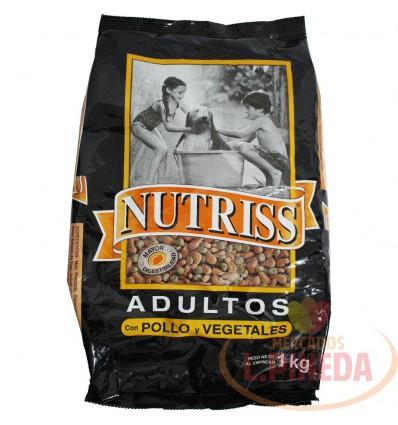 Cuido Perros Nutriss 1000 G Adultos Pollo-Vegetales