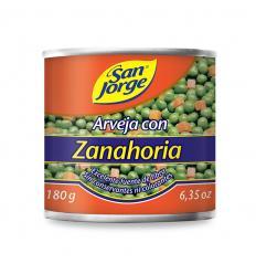 Arveja con Zanahoria San Jorge X 180 G