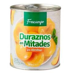 Duraznos en Mitades Frescampo X 820 G