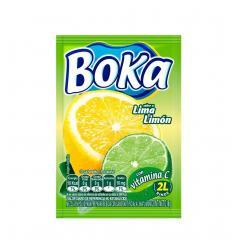 Refresco Boka X 2 L X 18 G Lima Limón