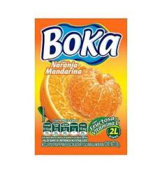 Refresco Boka X 2 L X 18 G Naranja Mandarina