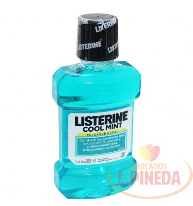 Enjuague Bucal Listerine X 180 ML Cool Mint