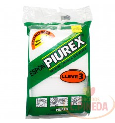 Esponja Piurex X 3 Unds