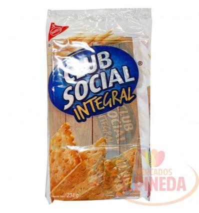Galletas Club Social Integral X 9 Unds