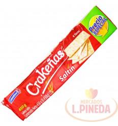 Galletas Crakenas 6 tacos Saltin