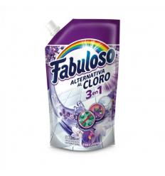 Fabuloso Alternativa Al Cloro 3 En 1 Fresca Lavanda x720ML