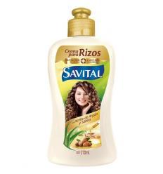 Crema Para Peinar Savital Aceite De Argan x 270ml