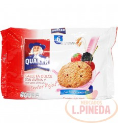 Galletas De Avena Quaker X 34 G Frutos
