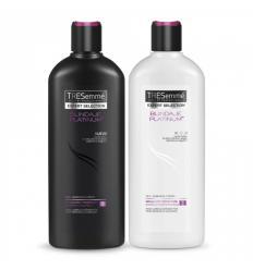 Shampoo + Acondicionador Tresemmé x400Ml